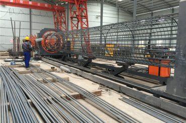 Geriausios kainos suvirinimo vielos tinklelio rulono mašina, sutvirtinamųjų narvų siūlių suvirinimo skersmuo 500-2000 mm