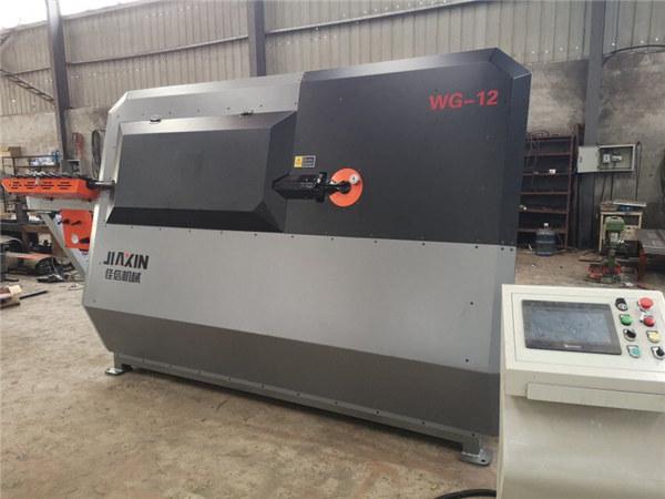 Plačiai naudojama automatinė armatūra Stirrup lenkimo pjaustymo mašina